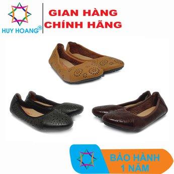HH7950-51-52 - Giày nữ hoa văn Huy Hoàng da bò nhiều màu