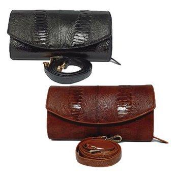 Túi đeo nữ da đà điểu da chân nhiều màu HH6414-17