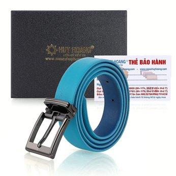 Thắt lưng nữ Huy Hoàng cỡ lớn màu xanh HH5108