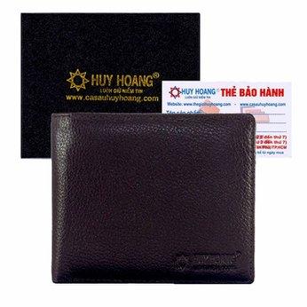 Bóp nam Huy Hoàng cao cấp màu nâu HH2115