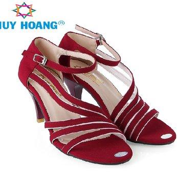 HH7062 - Giày sandal nữ Huy Hoàng màu đỏ