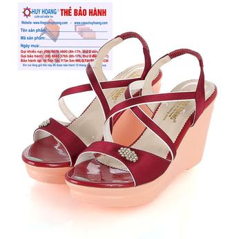 Giày nữ Huy Hoàng màu đỏ HH7065