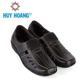 HH7787 - Giày rọ nam Huy Hoàng da bò màu nâu