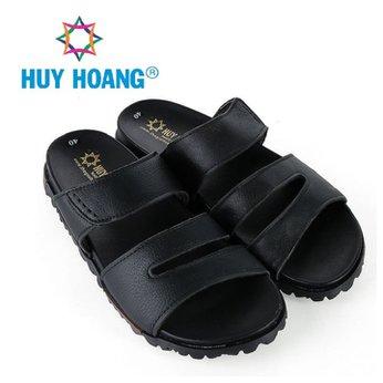 HH7790 - Dép nam Huy Hoàng màu đen