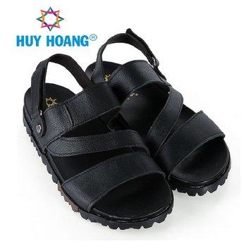 HH7792 - Dép quai hậu nam Huy Hoàng màu đen
