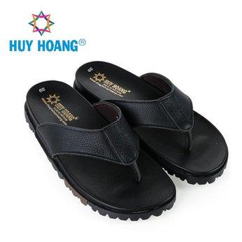 HH7788 - Dép xỏ ngón nam Huy Hoàng màu đen