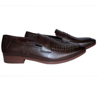 HH7502 - Giày tây nam Huy Hoàng màu nâu đất