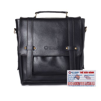 Balo thời trang Huy Hoàng màu đen HH6155