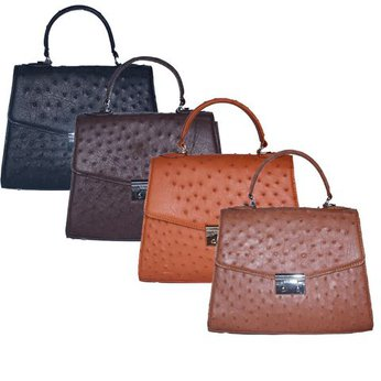 Túi hộp đeo chéo nữ da đà điểu nhiều màu HH6457-58-59-60