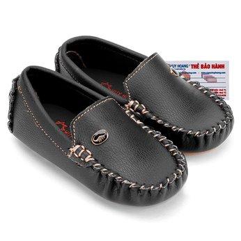 Giày KIDS mọi nam Huy Hoàng màu đen phối đá HH7810