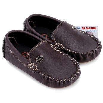 Giày KIDS mọi nam Huy Hoàng màu nâu đất phối đá HH7811