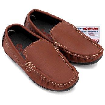Giày KIDS mọi nam Huy Hoàng màu nâu đỏ HH7803