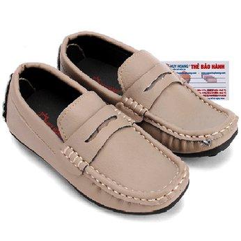 Giày KIDS mọi nam Huy Hoàng màu sữa HH7804