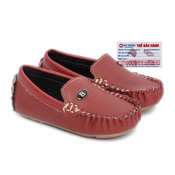 Giày Kids mọi nam màu đỏ phối đá HH7812