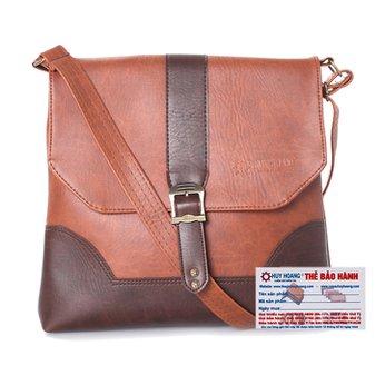 Túi đeo Ipad Huy Hoàng màu bò đậm HH6150