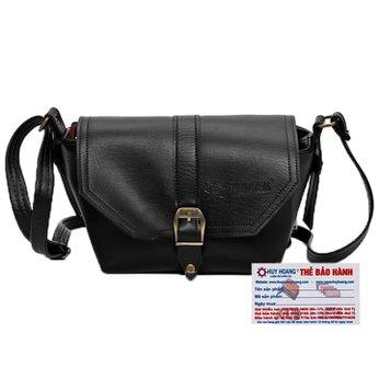 Túi xách bầu nhỏ Huy Hoàng màu đen HH6143