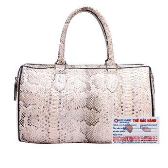 Túi xách da trăn Huy Hoàng màu da nguyên thủy HH6301