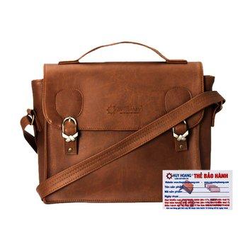 Túi xách hộp vuông Huy Hoàng màu bò nhạt HH6133