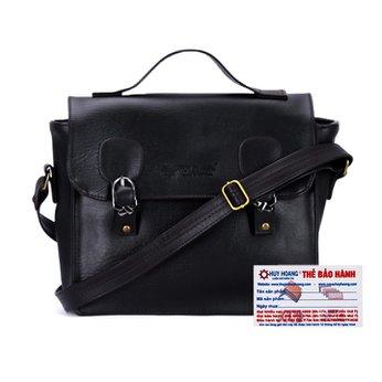 Túi xách hộp vuông Huy Hoàng màu đen HH6135