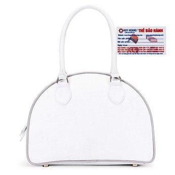 Túi xách Huy Hoàng da bò màu trắng HH6173