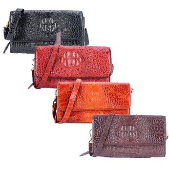 Túi đeo nữ Huy Hoàng da cá sấu nhiều màu HH6255-56-57-58