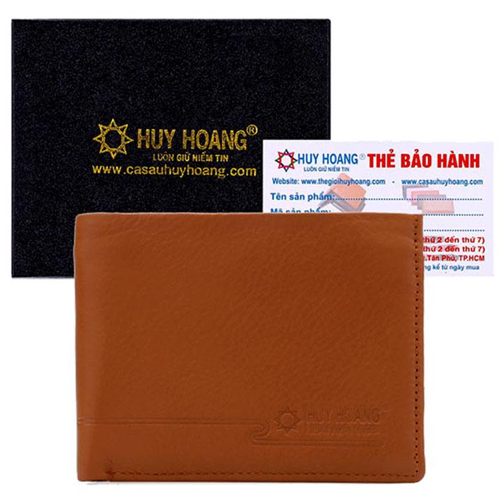Bóp nam Huy Hoàng sang trọng màu da HH2104