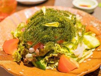 Món ăn lạ miệng chế biến từ rong nho biển