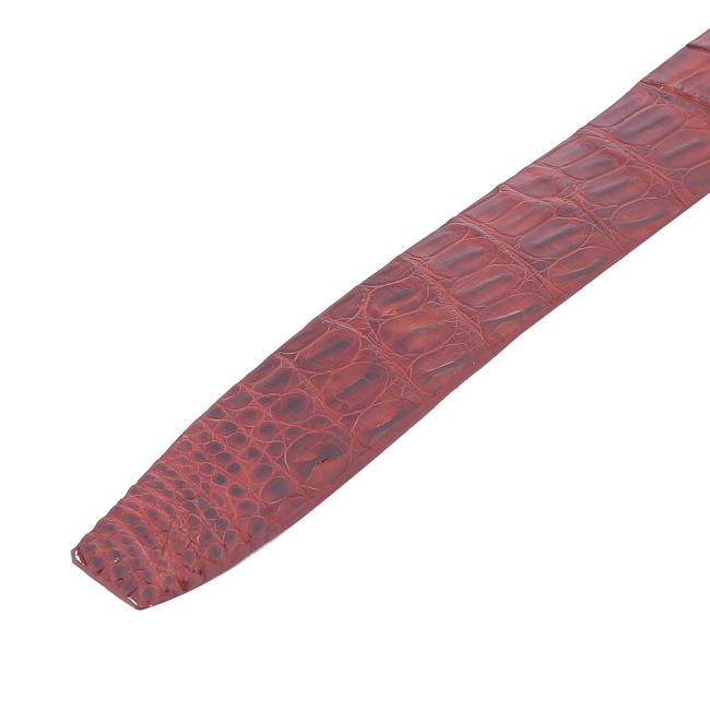 Dây nịt nam da cá sấu gai đuôi đầu kim bản lớn nhiều màu HG4715-16-17
