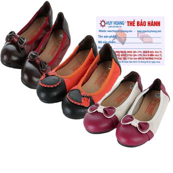 Giày trẻ em nữ Huy Hoàng da bò nhiều màu HG7863-64-65