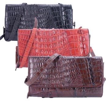 Túi xách nữ Huy Hoàng da cá sấu đeo chéo 2 gai nhiều màu HG6246-47-49