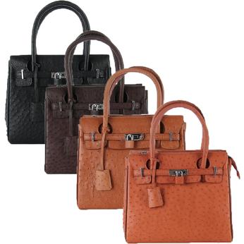 Túi xách nữ da đà điểu cao cấp nhiều màu HG6437-38-39-40