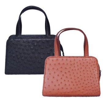 Túi xách nữ da đà điểu cỡ nhỏ nhiều màu HG6463-66