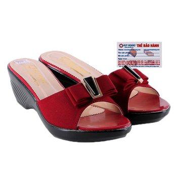 HG7929 - Dép nữ thời trang màu đỏ