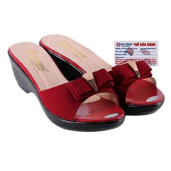 HG7934 - Dép nữ thời trang màu đỏ