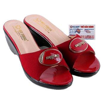 HG7931 - Dép nữ thời trang màu đỏ