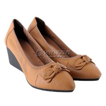 HG7941 - Giày nữ da bò 5 phân màu da