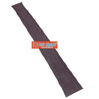 HG1302 - Da thuộc da trăn nguyên con màu nâu đất