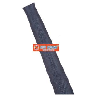 HG1303 - Da thuộc da trăn nguyên con màu xanh đậm