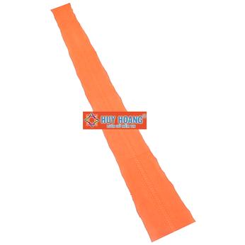 HG1305 - Da thuộc da trăn nguyên con màu cam