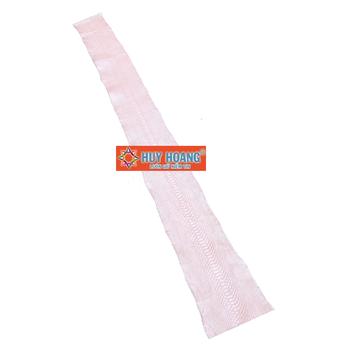 HG1306 - Da thuộc da trăn nguyên con màu hồng nhạt