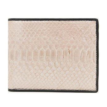 Bóp nam Huy Hoàng da trăn màu hồng nhạt HG2322