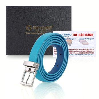 Thắt lưng nữ Huy Hoàng màu xanh dương HG5118