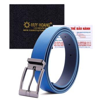 HG5143 - Thắt lưng nữ Huy Hoàng cỡ lớn màu xanh