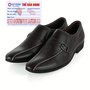 Giày da nam Huy Hoàng da bò màu nâu HG7111