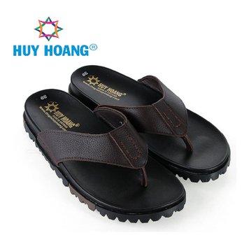 HG7789 - Dép xỏ ngón nam Huy Hoàng màu nâu