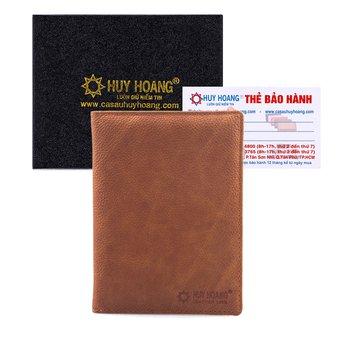 Ví đựng Passport da bò Huy Hoàng màu da HG9104