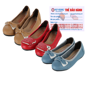 Giày trẻ em nữ Huy Hoàng da bò nhiều màu HG7860-61-62
