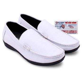 Giày mọi nam Huy Hoàng màu trắng HG7117