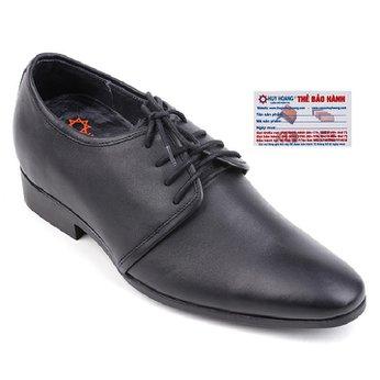 Giày nam tăng chiều cao Huy Hoàng màu đen HG7722