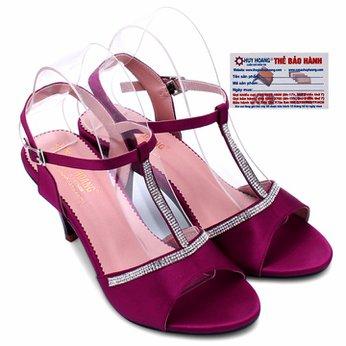Giày sandal nữ Huy Hoàng màu đỏ HG7055